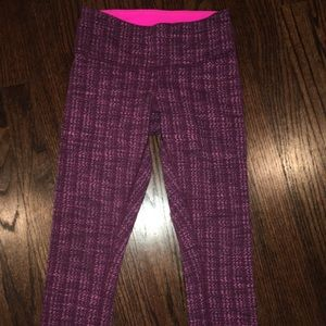 Lululemon wunder under Crop Capri